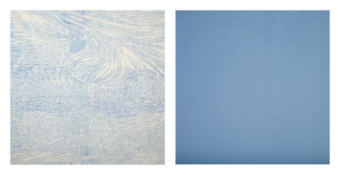 Immutable blue of noon